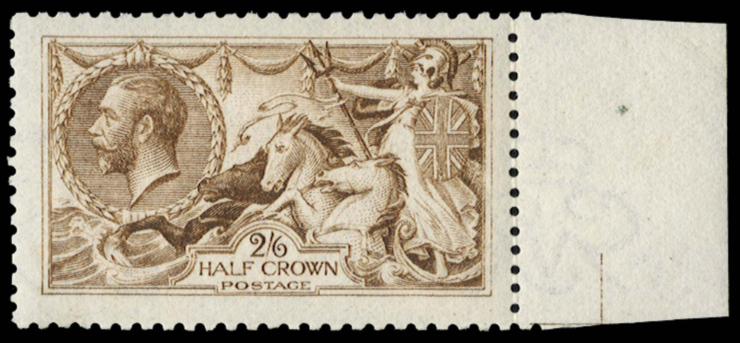 GB 1915  SG406wj Mint Wmk. Reversed