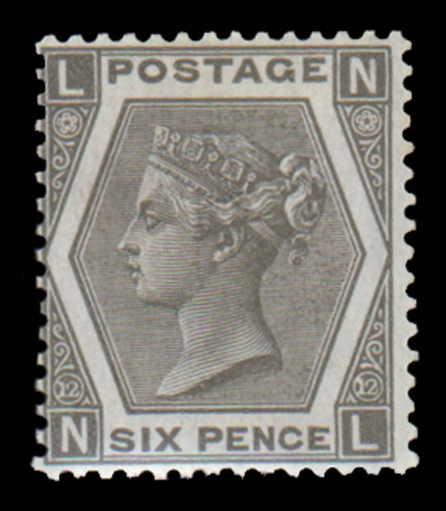 GB 1873  SG125 Pl.12 Mint