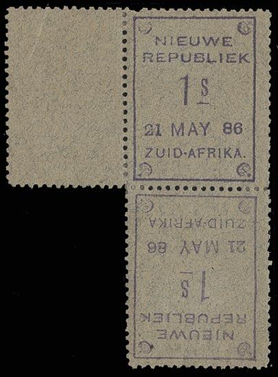 NEW REPUBLIC 1886  SG32a Mint