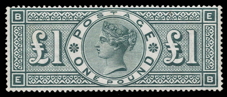 GB 1891  SG212 Mint