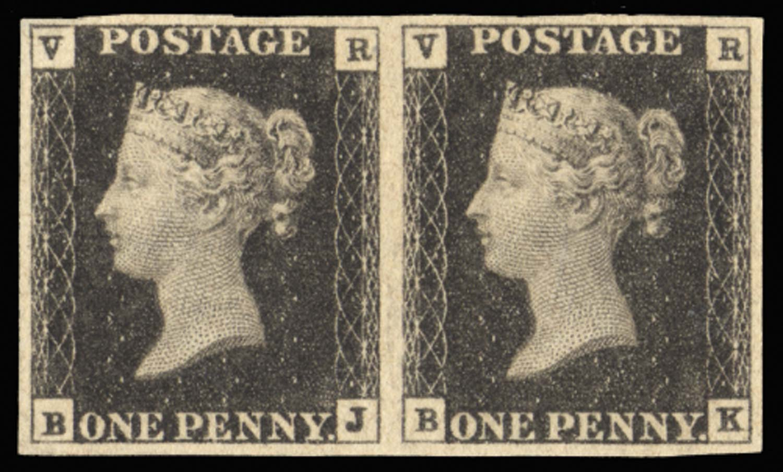 GB 1840  SGV1 Mint