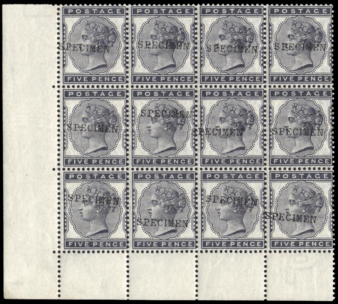 GB 1881  SG169s Mint
