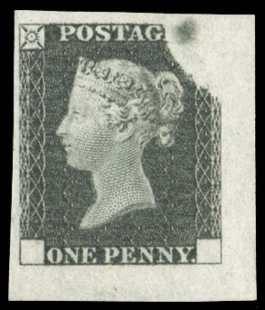GB 1840  SGDP20(3)d Mint