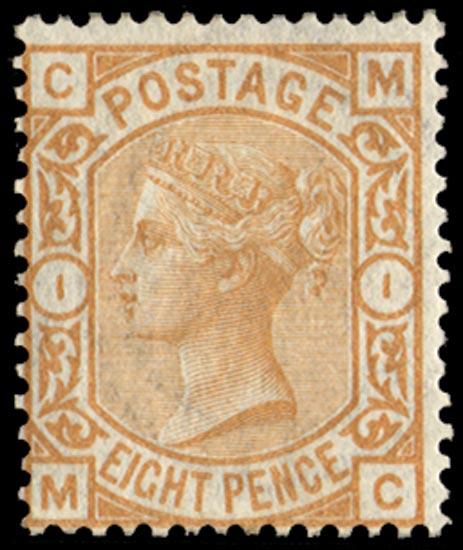 GB 1876  SG156 Pl.1 Mint