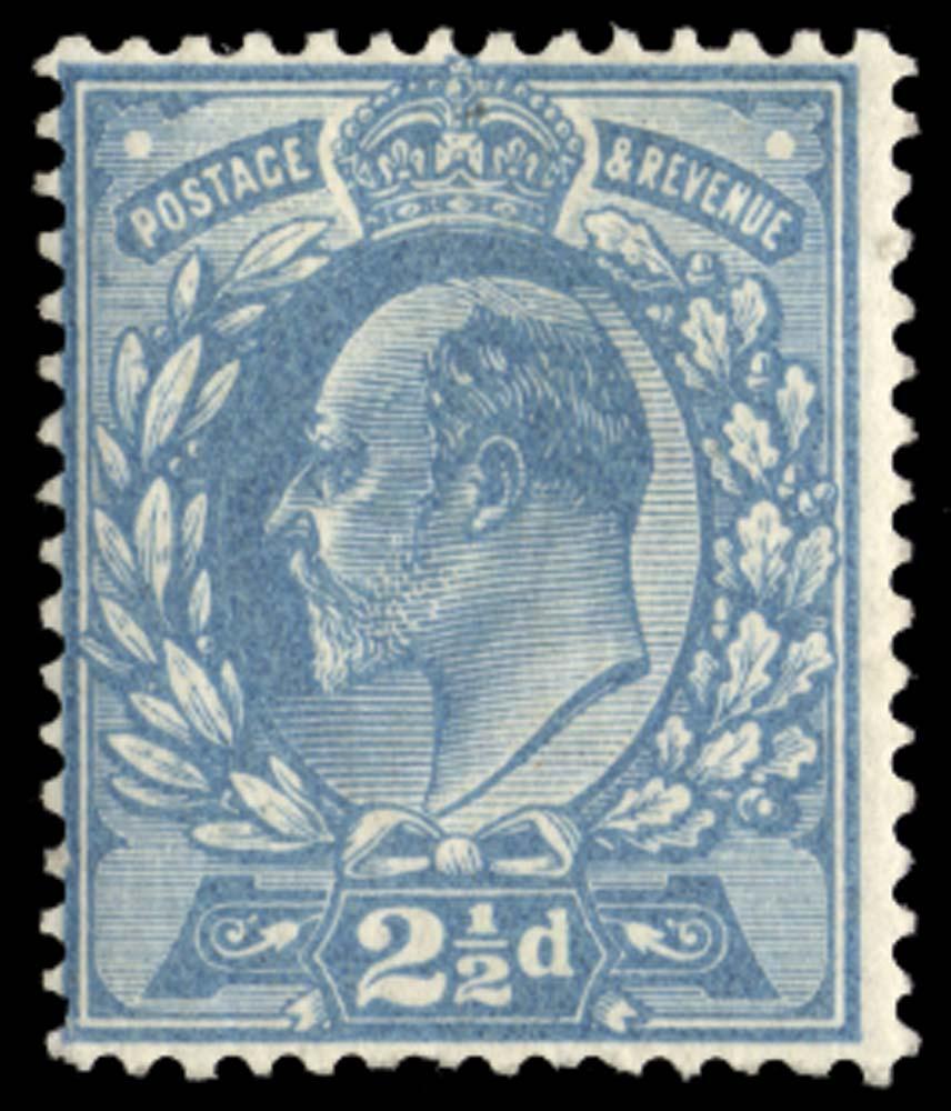 GB 1901  SG230var Mint