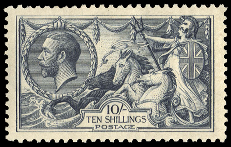 GB 1919  SG417var Mint