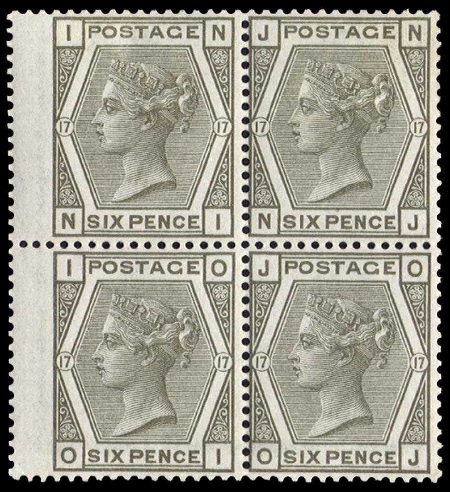GB 1880  SG147 Pl.17 Mint