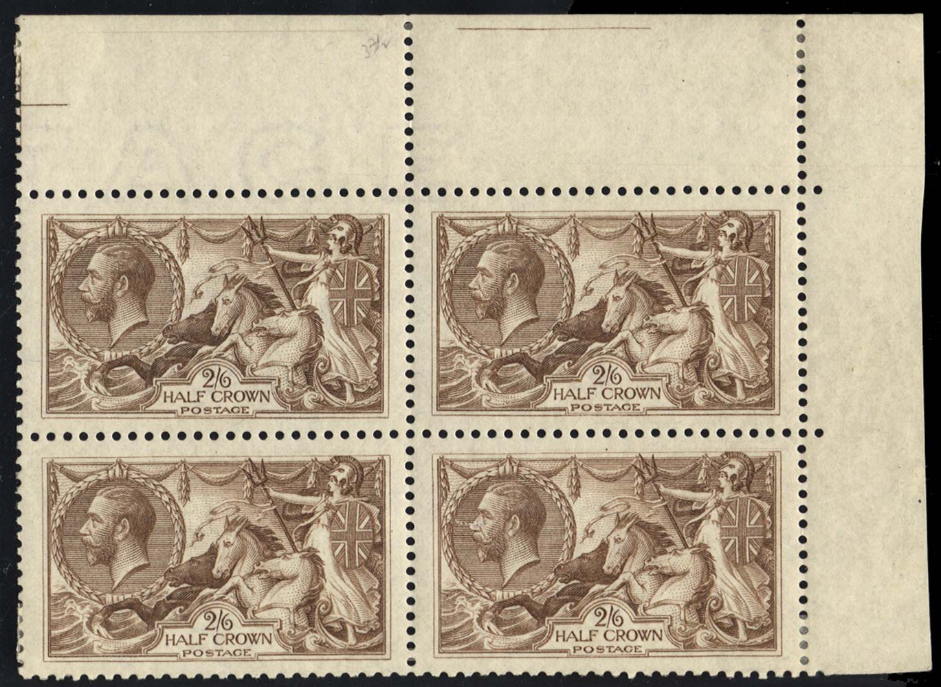 GB 1918  SG414var Mint