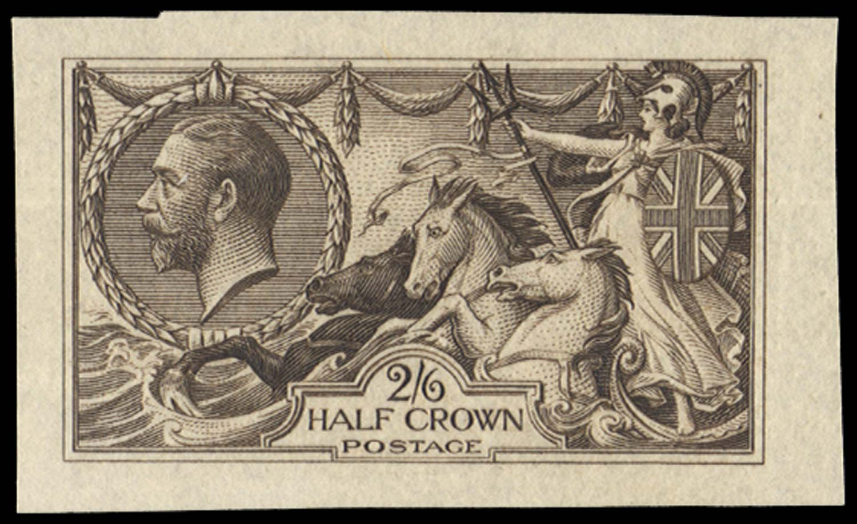 GB 1913  SG399var Mint