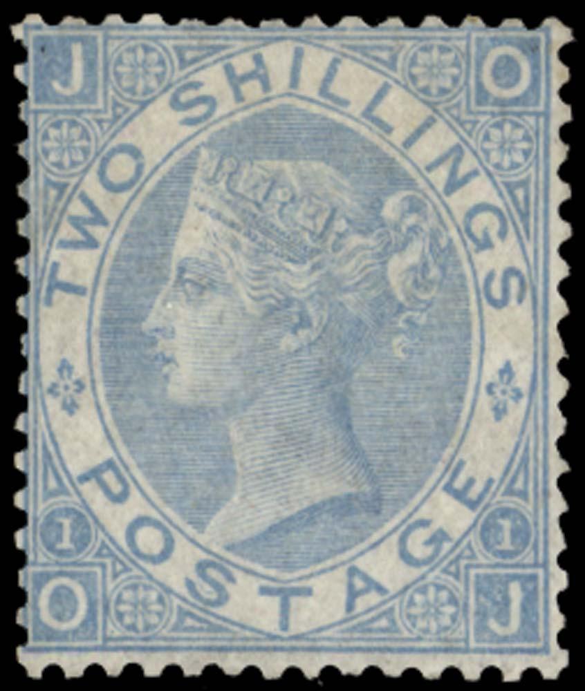 GB 1867  SG120b Pl.1 Mint