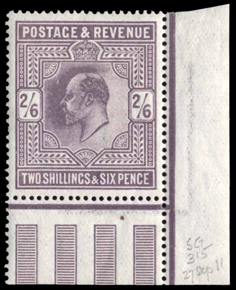 GB 1911  SG315 Mint