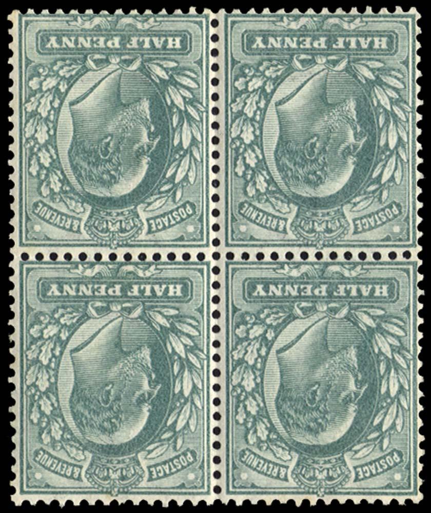 GB 1902  SG215wi Mint