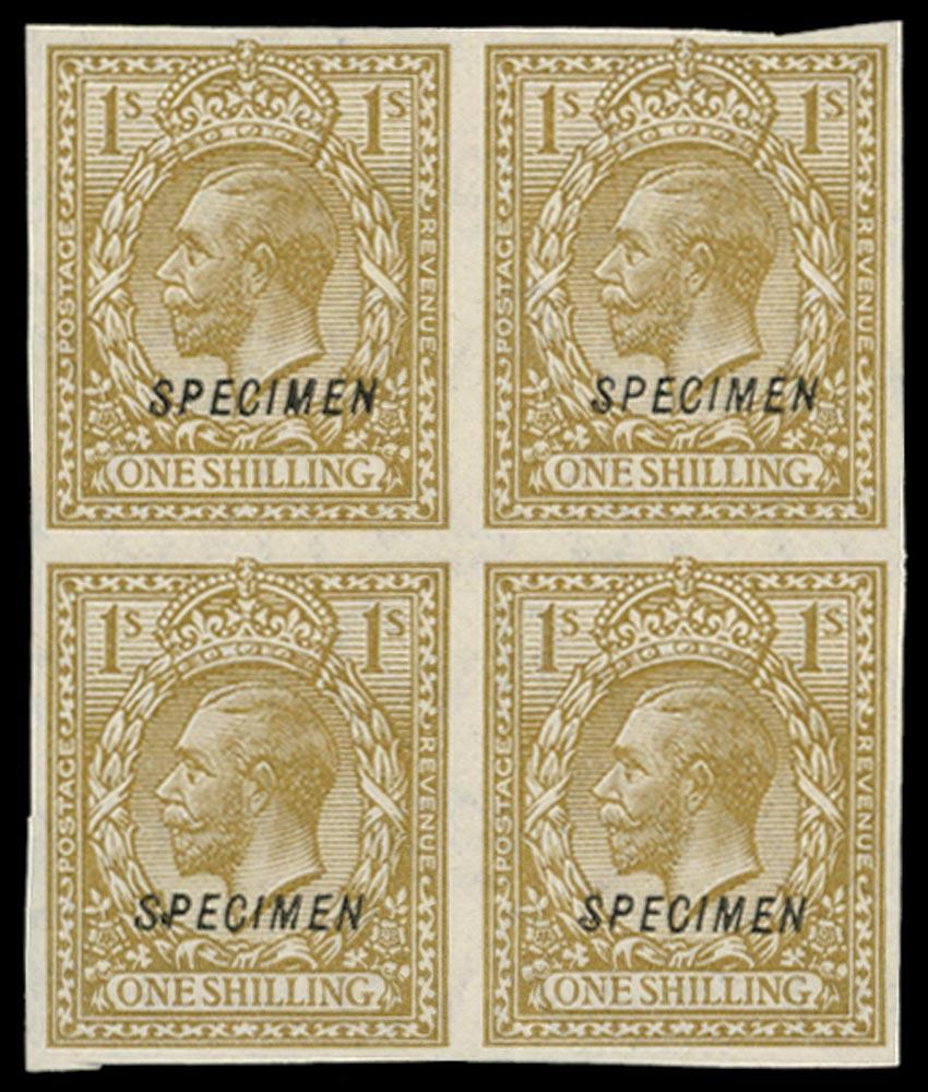 GB 1924  SG429var Specimen