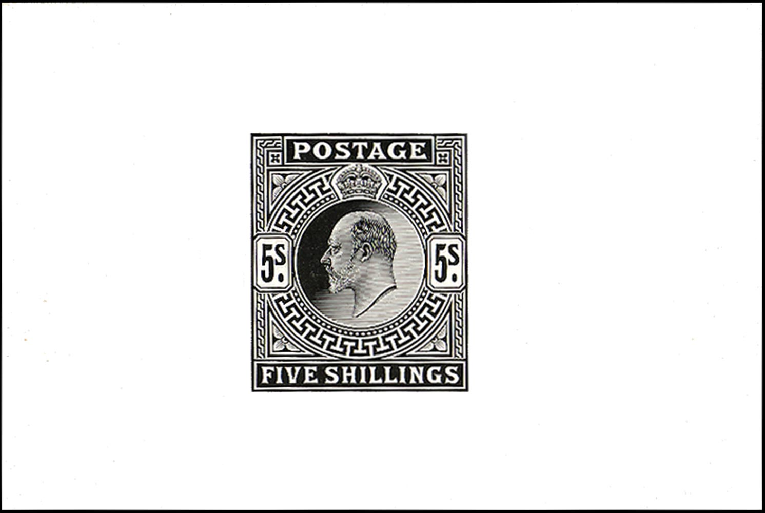 GB 1902  SG263var Proof