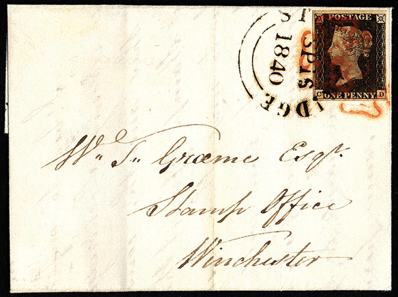 GB 1840  SG2 Pl.3 Cover