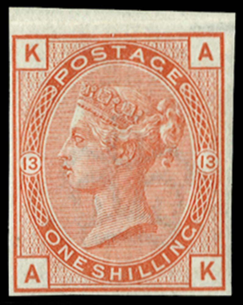 GB 1880  SG163var Mint Imprimatur.