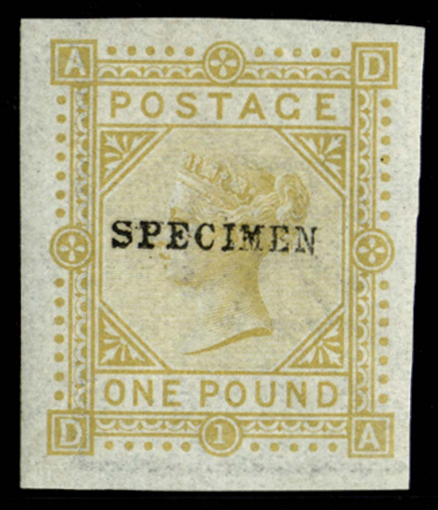 GB 1878  SG129var Pl.1 Mint
