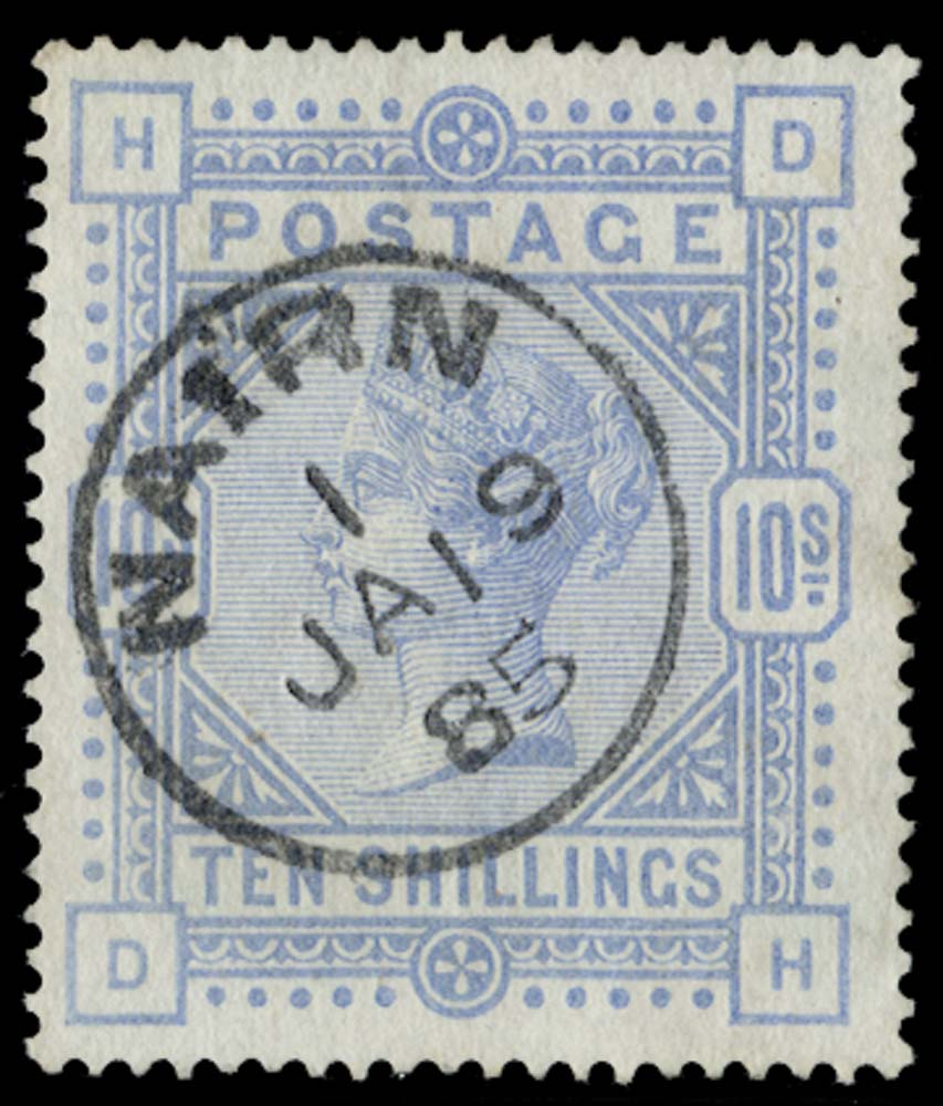 GB 1884  SG182 Used
