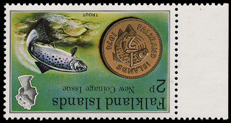 FALKLAND ISLANDS 1975  SG316w Mint
