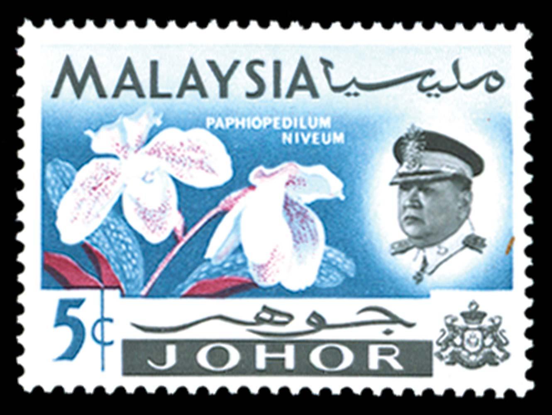 MALAYA - JOHORE 1965  SG168b Mint
