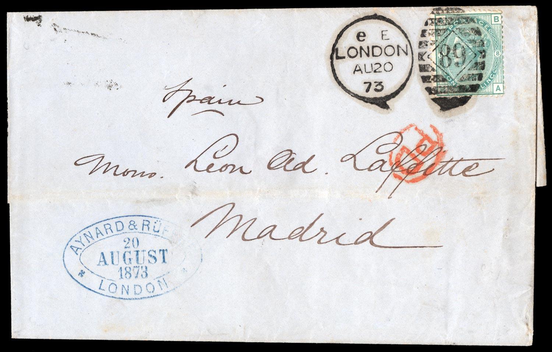 GB 1873  SG150 Cover