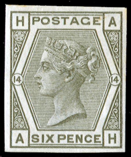 GB 1873  SG147var Mint