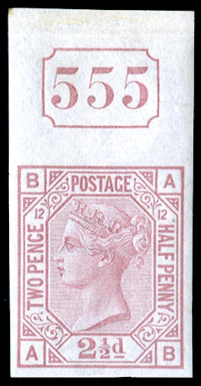 GB 1878  SG141var Pl.12 Mint