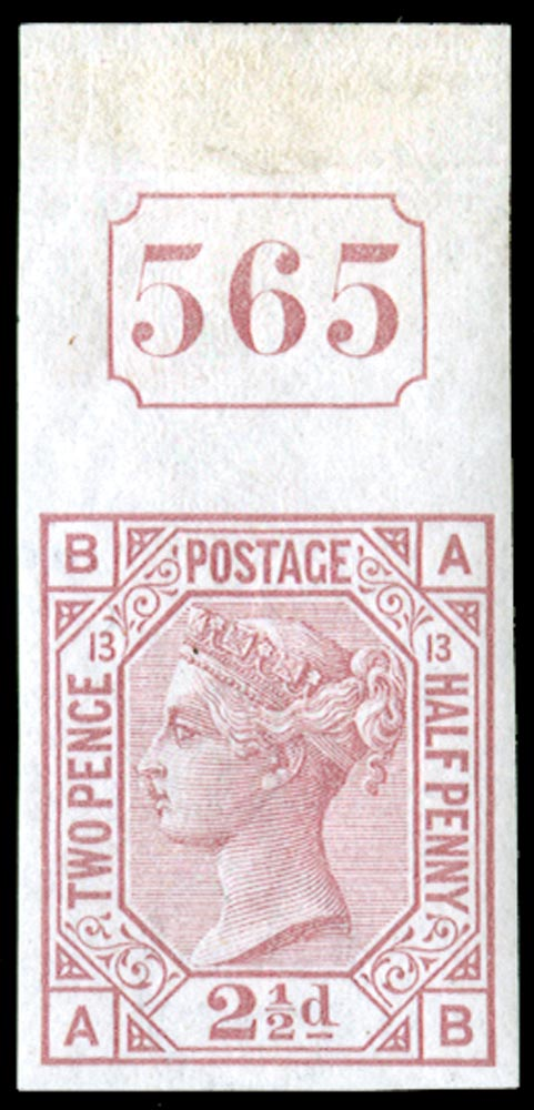 GB 1878  SG141var Pl.13 Mint