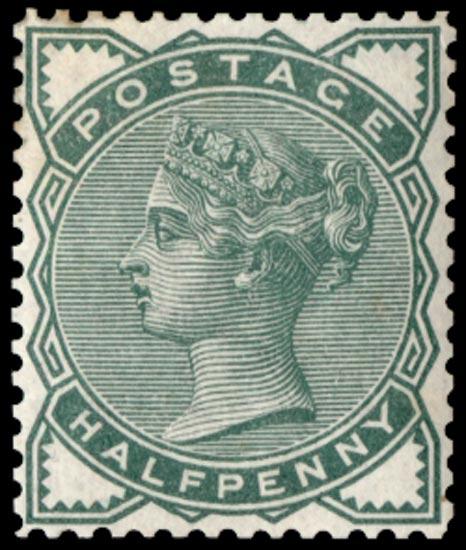 GB 1887  SG164var Mint