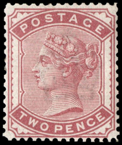 GB 1887  SG168var Pl.2 Mint