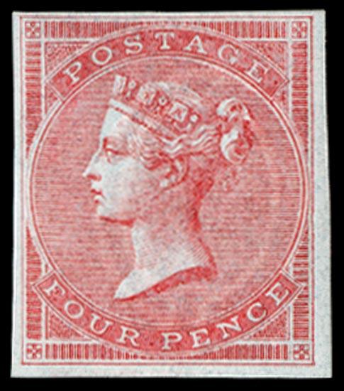 GB 1855  SG62var Pl.2 Mint