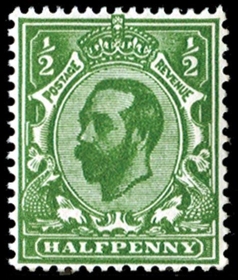 GB 1911  SG325var Mint