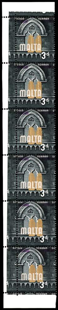 MALTA 1965  SG335var Mint