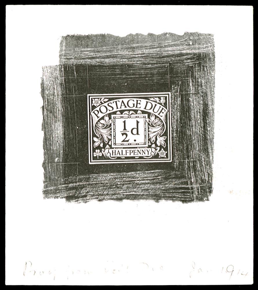 GB 1914  SGD1var Postage Due
