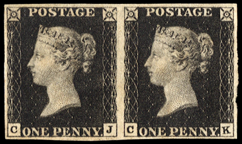 GB 1840  SG2 Pl.5 Mint