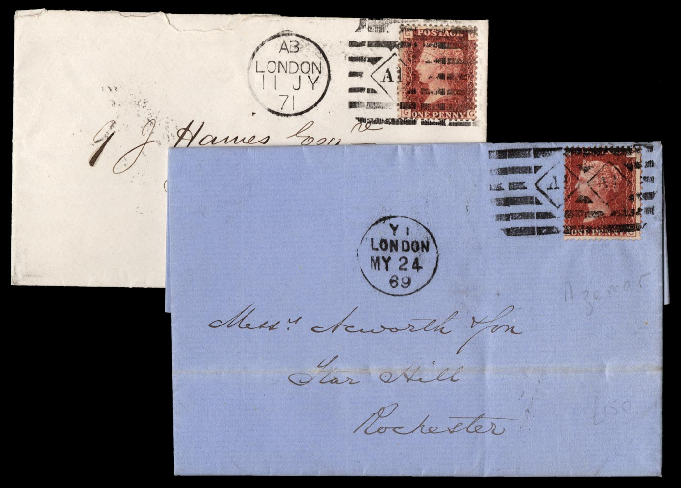 GB 1871  SG43 Cover