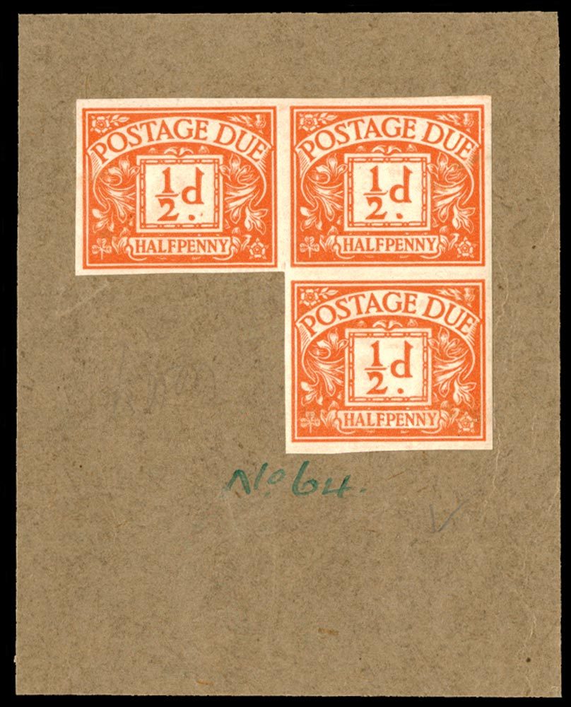 GB 1923  SGD18var Postage Due