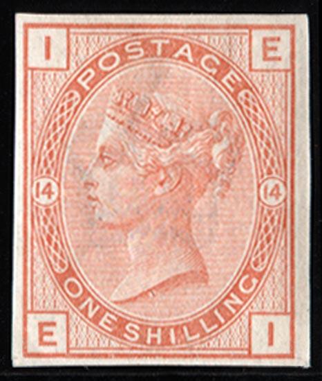 GB 1882  SG163var Mint imprimatur.