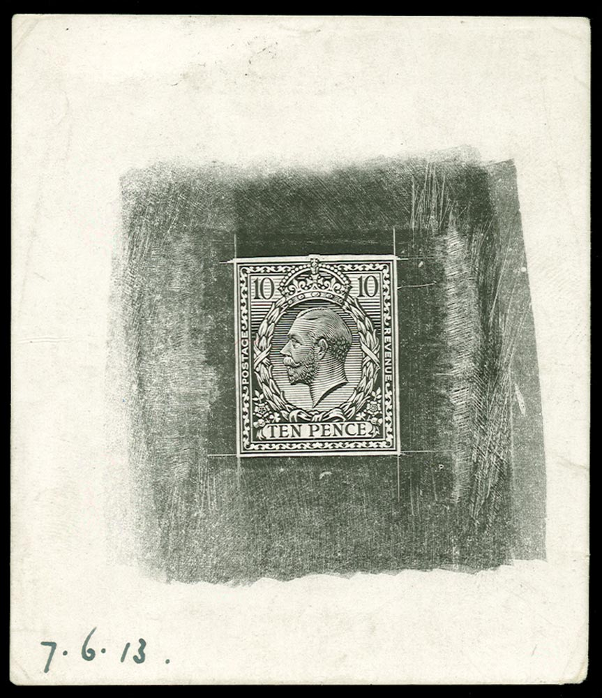 GB 1913  SG394var Proof