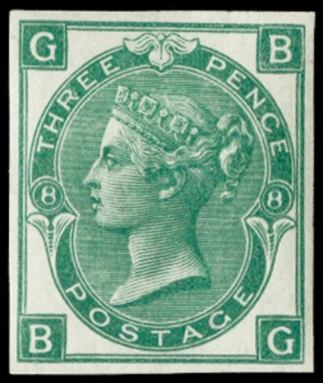 GB 1872  SG103var Mint