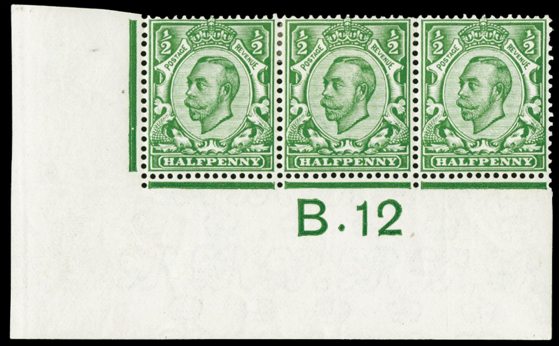 GB 1912  SG346 Mint