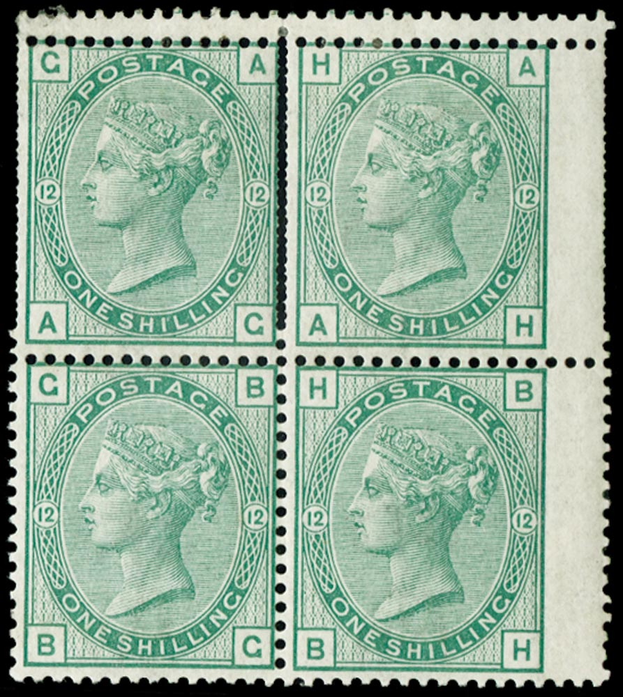 GB 1875  SG150wi var Mint double perforation variety