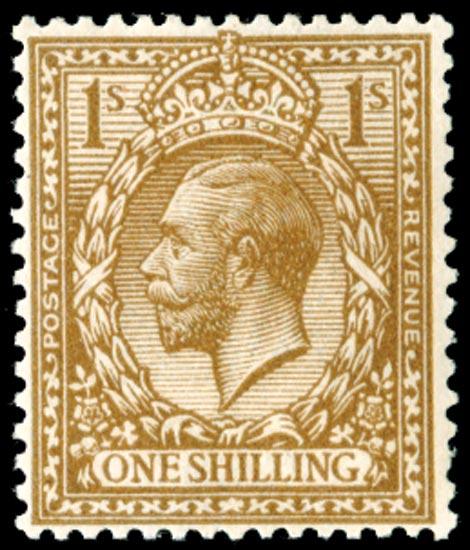 GB 1913  SG395var Mint
