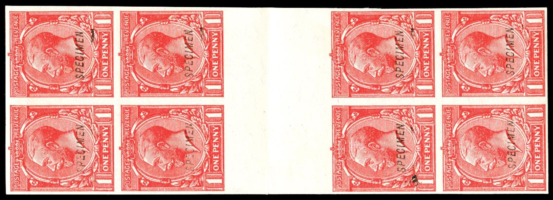 GB 1924  SG419a var Specimen