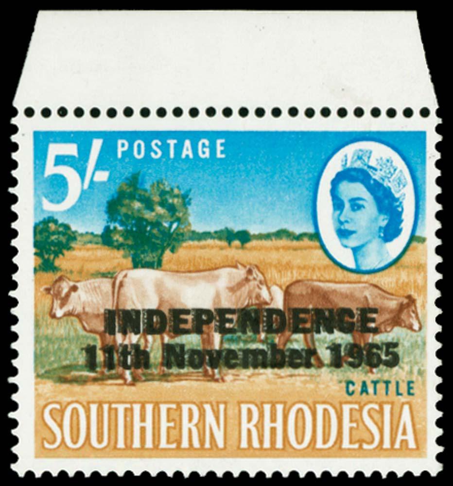 RHODESIA 1966  SG370a Mint