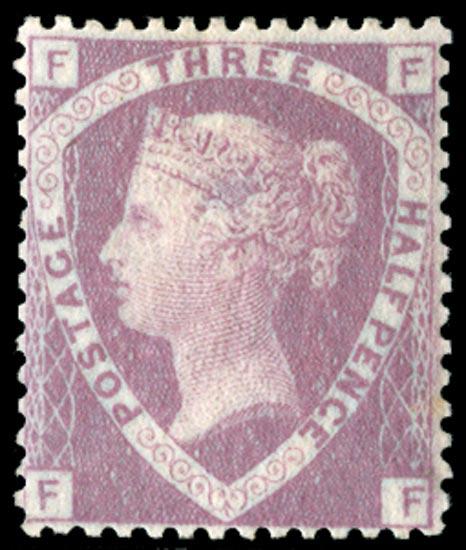 GB 1860  SG53a Pl.1 Mint