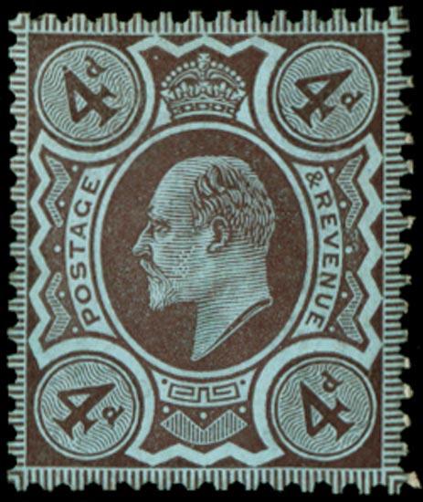 GB 1909  SG235var Mint