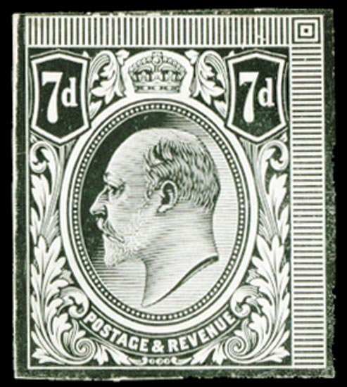 GB 1910  SG249var Proof