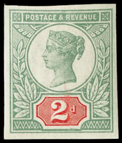 GB 1887  SG199var Mint