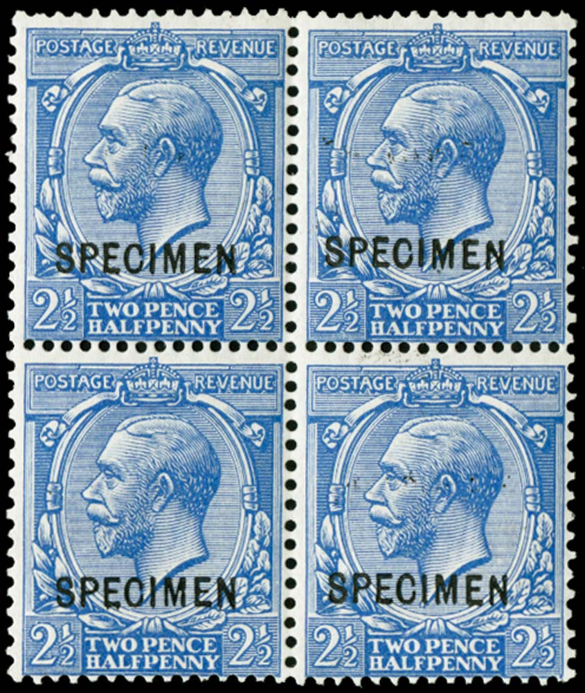 GB 1912  SG372var Specimen